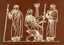Ancient Greek Etching